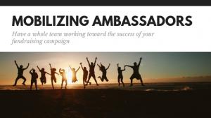 Mobilizing Ambassadors
