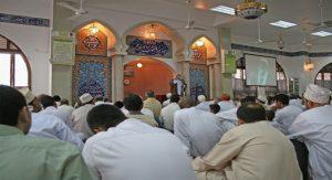 Jumuah prayer gathering