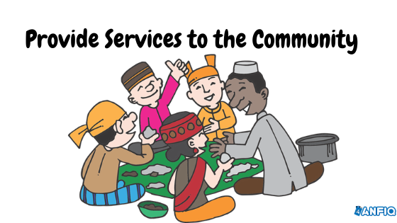 Providing Services to the Community